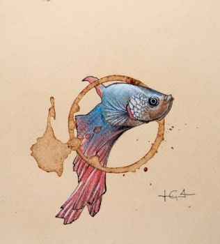 Aquatic art by Lucas Grant