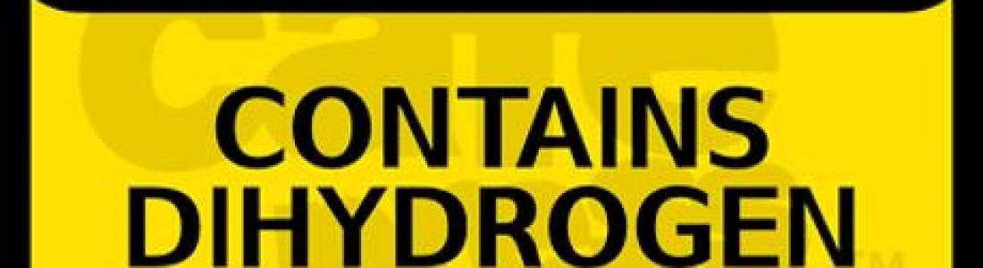 Water Bottle Warning Label